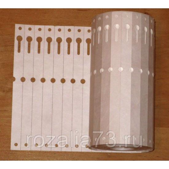 Бирка-петелька для маркировки растений 50 шт.
